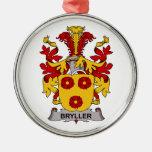 Escudo de la familia de Bryller Ornamentos De Reyes Magos