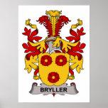 Escudo de la familia de Bryller Posters