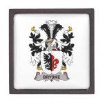 Escudo de la familia de Bryske Cajas De Joyas De Calidad