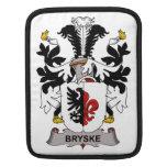 Escudo de la familia de Bryske Fundas Para iPads