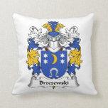 Escudo de la familia de Brzezewski Cojin