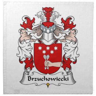 Escudo de la familia de Brzuchowiecki Servilleta De Papel