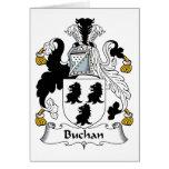 Escudo de la familia de Buchan Tarjetas