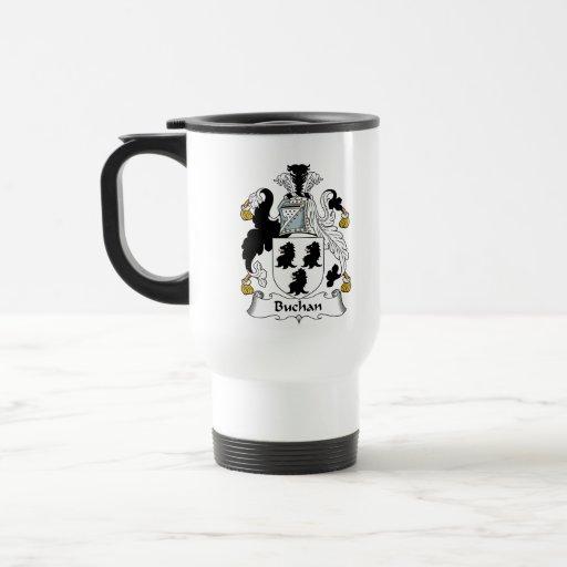 Escudo de la familia de Buchan Tazas De Café