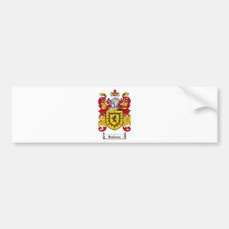 ESCUDO DE LA FAMILIA DE BUCHANAN - ESCUDO DE ARMAS PEGATINA PARA AUTO