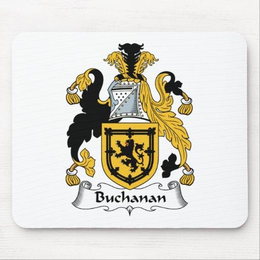 Escudo de la familia de Buchanan Tapete De Ratón