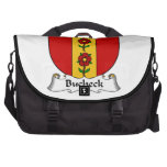 Escudo de la familia de Bucheck Bolsas De Portátil