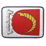 Escudo de la familia de Buchenstein Funda Para Macbook Pro