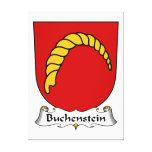 Escudo de la familia de Buchenstein Impresiones En Lona Estiradas