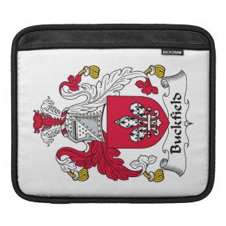 Escudo de la familia de Buckfield Funda Para iPads