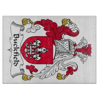 Escudo de la familia de Buckfield Tablas Para Cortar