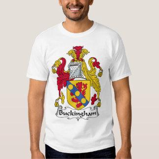 Escudo de la familia de Buckingham Polera