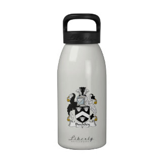 Escudo de la familia de Buckley Botella De Agua Reutilizable