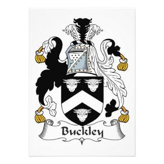 Escudo de la familia de Buckley Anuncios