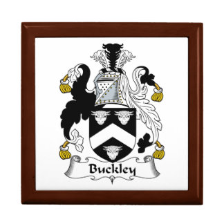 Escudo de la familia de Buckley Caja De Regalo