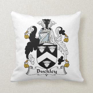 Escudo de la familia de Buckley Cojín