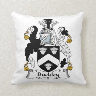 Escudo de la familia de Buckley Cojines
