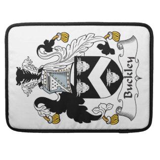 Escudo de la familia de Buckley Fundas Macbook Pro