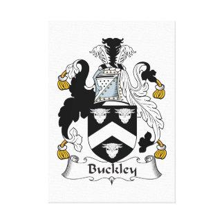 Escudo de la familia de Buckley Impresion En Lona