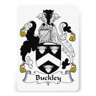 Escudo de la familia de Buckley Comunicados Personales