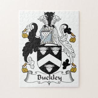 Escudo de la familia de Buckley Puzzle Con Fotos