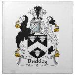 Escudo de la familia de Buckley Servilletas