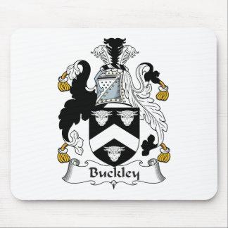 Escudo de la familia de Buckley Tapete De Ratones