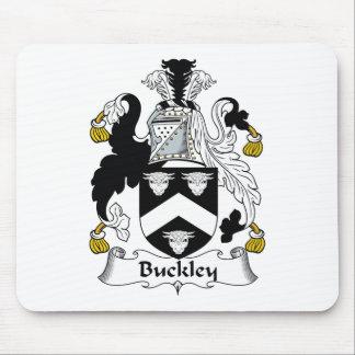 Escudo de la familia de Buckley Alfombrilla De Ratón