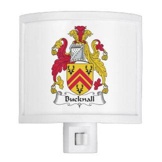 Escudo de la familia de Bucknall