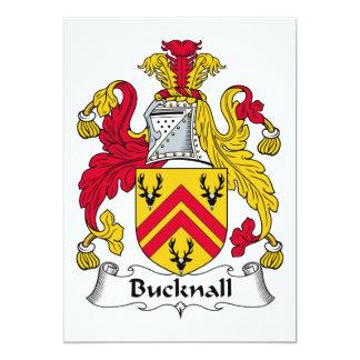 Escudo de la familia de Bucknall Comunicado