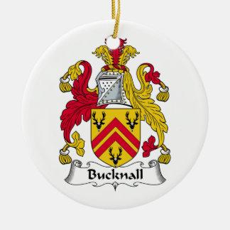 Escudo de la familia de Bucknall Ornamento De Reyes Magos