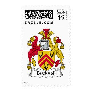 Escudo de la familia de Bucknall Envio