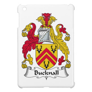 Escudo de la familia de Bucknall iPad Mini Protectores