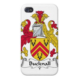 Escudo de la familia de Bucknall iPhone 4 Protectores