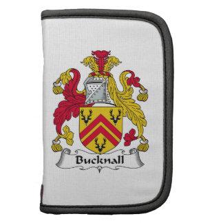 Escudo de la familia de Bucknall Planificadores