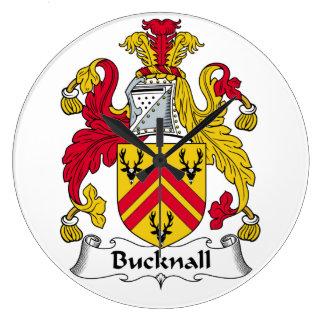 Escudo de la familia de Bucknall Reloj