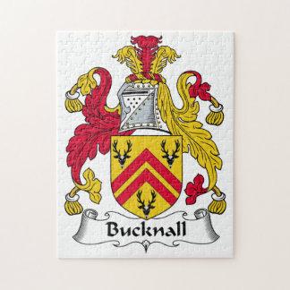 Escudo de la familia de Bucknall Rompecabezas