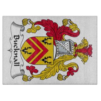 Escudo de la familia de Bucknall Tabla Para Cortar