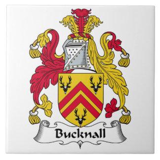 Escudo de la familia de Bucknall Tejas Ceramicas