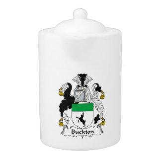 Escudo de la familia de Buckton