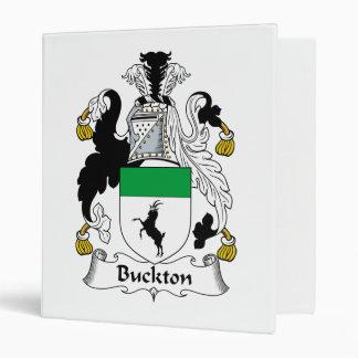 """Escudo de la familia de Buckton Carpeta 1"""""""