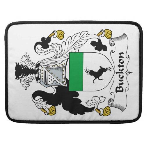 Escudo de la familia de Buckton Funda Para Macbook Pro