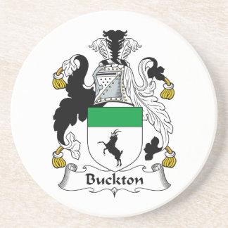 Escudo de la familia de Buckton Posavasos Manualidades