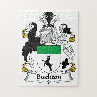 Escudo de la familia de Buckton Rompecabezas Con Fotos