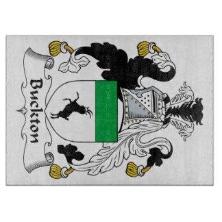 Escudo de la familia de Buckton Tabla De Cortar