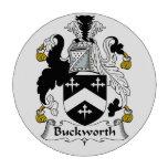 Escudo de la familia de Buckworth Fichas De Póquer
