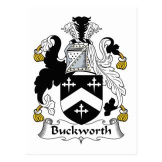 Escudo de la familia de Buckworth Postales