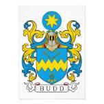 Escudo de la familia de Budd