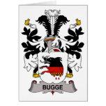 Escudo de la familia de Bugge Felicitaciones