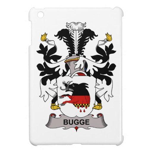 Escudo de la familia de Bugge iPad Mini Carcasas